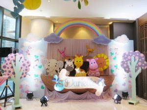 "Darielle's ""Noah's Ark"" Themed Party – 1st Birthday"