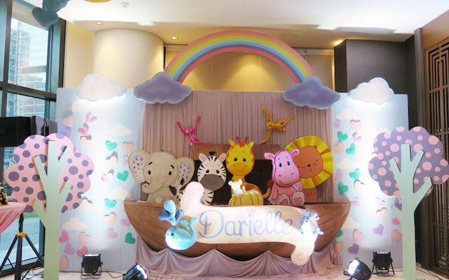 "Darielle's ""Noah's Ark"" Themed Party – 1st Birthday"
