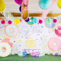 Donuts Theme Party Stage Design