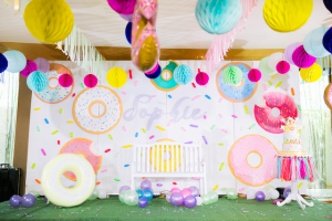 Sophie's Delightful Donuts Party – 1st Birthday