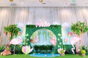 Aria's Tropical Flamingo Party – 1st Birthday