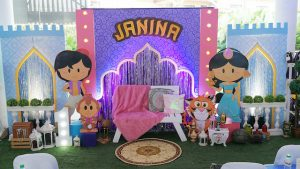 Janina's Disney Aladdin Themed Party – 1st Birthday