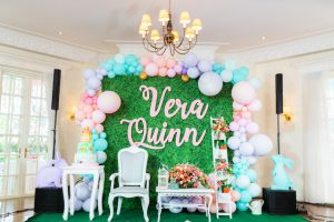 Vera's Spring Bunny Themed Party – 1st Birthday