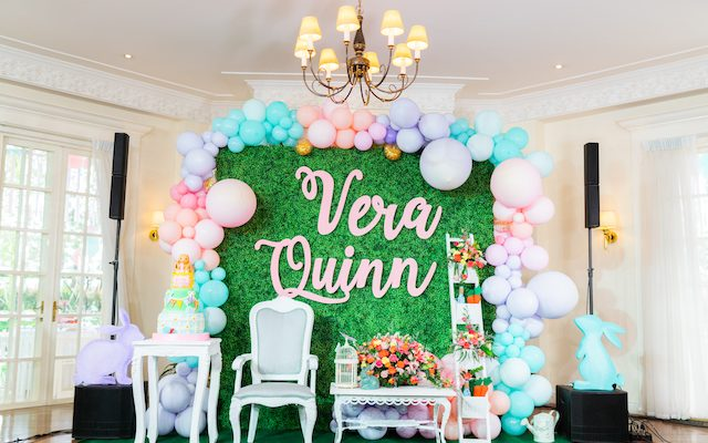 Vera's Spring Bunny Themed Party – 1st Birthday
