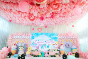 Zakia's Dessert World Themed Party – 1st Birthday