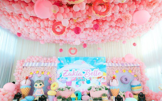 Zakia's Dessert World Themed Party – 1st Birthday