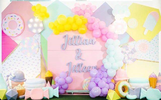 Jillian and Jilleen's Sweet Shoppe Themed Party – 1st Birthday