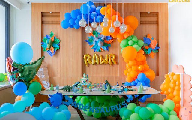 Aeden's Roaring Dino Quarantine Birthday Celebration – 1st Birthday