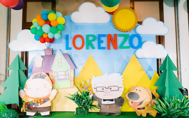 "Lorenzo's ""Disney's Up"" Themed Party – 1st Birthday"