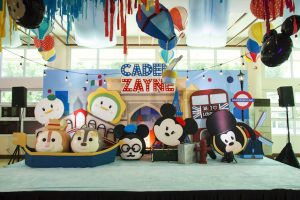 Caden's Around the World with Tsum Tsum Themed Party – 1st Birthday