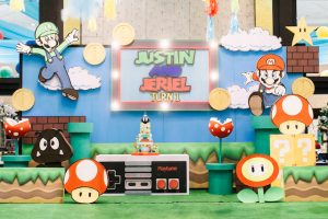 "Justin and Juriel's ""Mario and Luigi"" Themed Party – 1st Birthday"