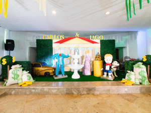 Iago and Carlo's Richie Rich Themed Party