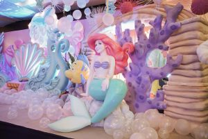 Erin's 'The Little Mermaid'  Themed Party – 1st Birthday