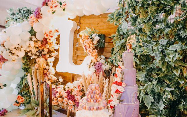 Luna's Enchanted Garden House Party – Baptismal Celebration