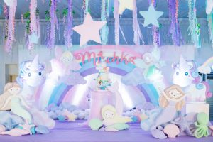 Mischka's Mermaids, Fairies and Unicorns Themed Party – 7th Birthday