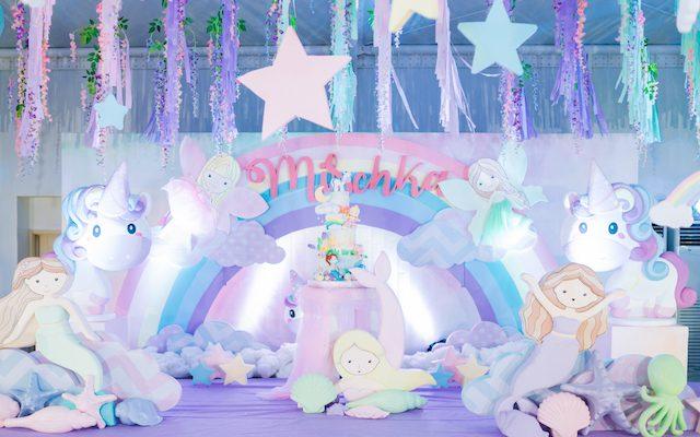 Mischka's Mermaids, Fairies and Unicorns Themed Party – 7th Birthday