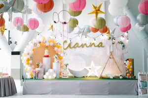 Cianna's 'Twinkle, Twinkle Little Star' Themed Party – 1st Birthday