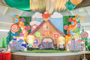 Ethan and Elyzza's Hansel and Gretel Themed Party – 1st Birthday