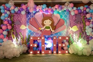Elie's Dainty Mermaid Adventure Themed Party – 1st Birthday