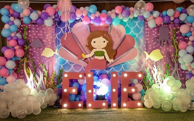 Elie's Dainty Mermaid Adventure Themed Party – 1st Birthday