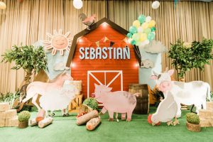 Sebastian's Farm Themed Party – 1st Birthday