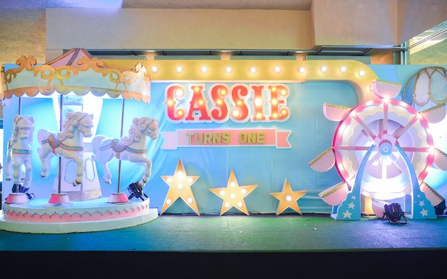 Cassie's Dreamy Circus Themed Party  – 1st Birthday