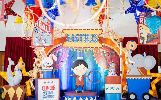 Mateus' Great Circus Spectacle – 1st Birthday
