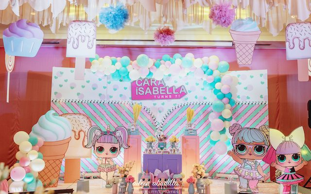 Cara's LOL Themed Party – 7th Birthday