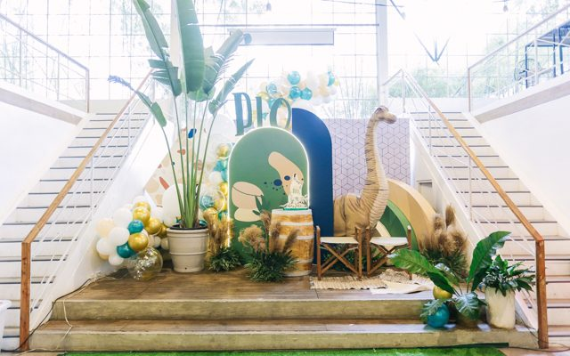 Pio's Scandinavian Dino Themed Party – 1st Birthday