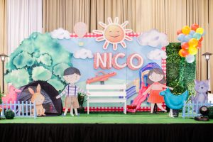 Nico's Fun Playground Party – 1st Birthday