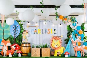 Carlisle's Tribal Woodland Themed Party – 1st Birthday