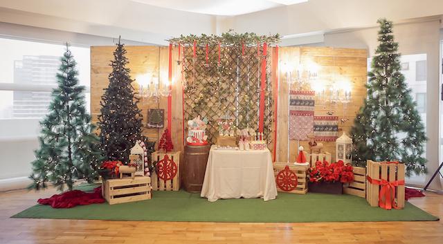 Georgia's Christmas Themed Baptismal Celebration