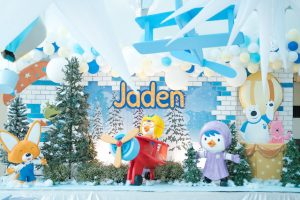 Jaden's Pororo and Friends Themed Party – 1st Birthday