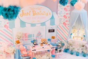 Jian Benszy's Teddy Bear Tea Party