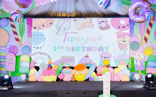 Tanya's Extra Sweet Candyland Themed Party – 1st Birthday