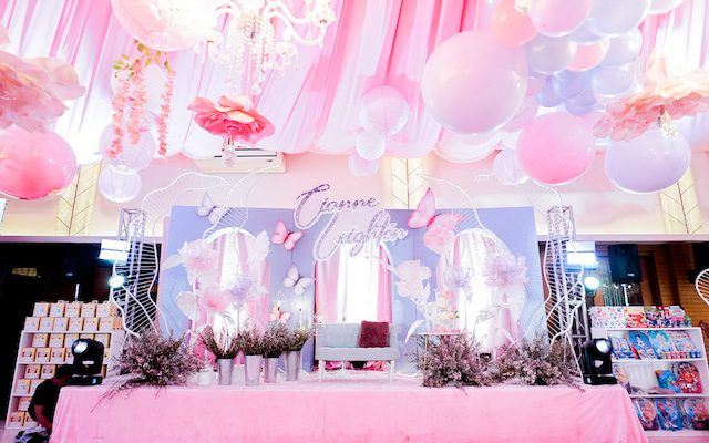 Cianne's Gorgeous Butterfly Garden Themed Party – 7th Birthday