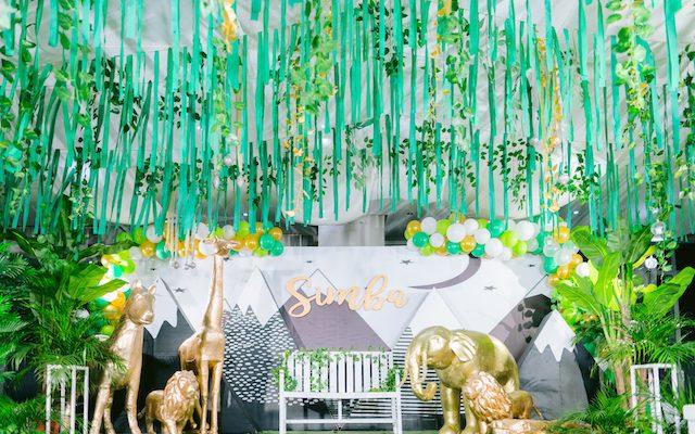 Simba's Luxe Safari Themed Party – 1st Birthday