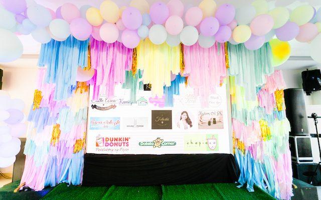 Pink or Blue glaze? Celyn's Pastel Donut Gender Reveal Party