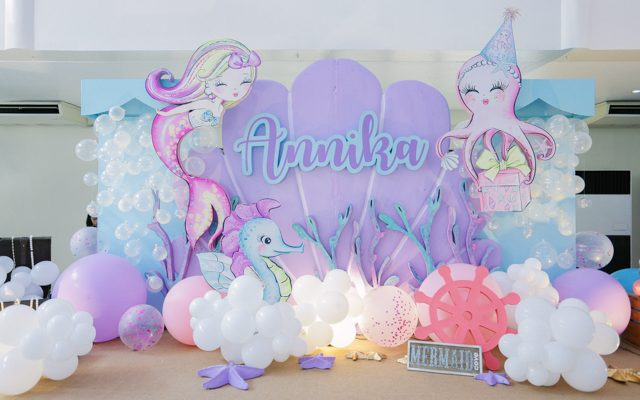 Annika's Girly Under the Sea Themed Party – 1st Birthday