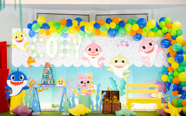 Coby's Baby Shark Themed Party – 1st Birthday