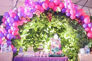 Hope's Enchanted Forest Themed Party – 7th Birthday