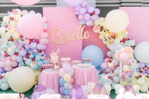Brielle's Magical Butterfly Themed Party – 1st Birthday