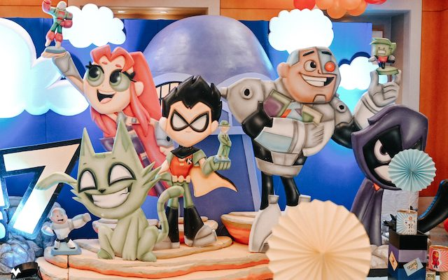 Liam's Teen Titans Themed Party – 7th Birthday