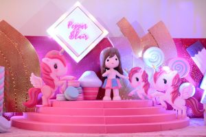 Pepper's Dazzling and Sweet Unicorn Themed Party – 7th Birthday