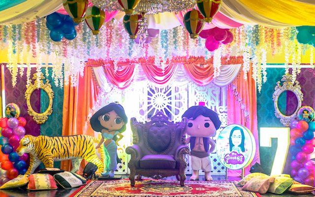 Giana's Aladdin Themed Party – 7th Birthday