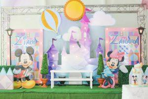 Ziam and Zahara's Magical Disneyland Themed Party