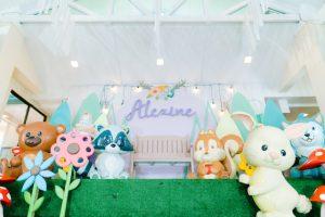 Alexine's Dainty Woodland Themed Party – 1st Birthday