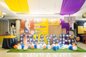 Dwayne's Fantastic NBA Basketball Themed Party – 7th Birthday
