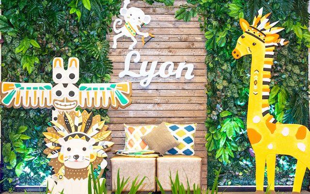 Lyon's Adorable Tribal Safari Theme Party – 1st Birthday