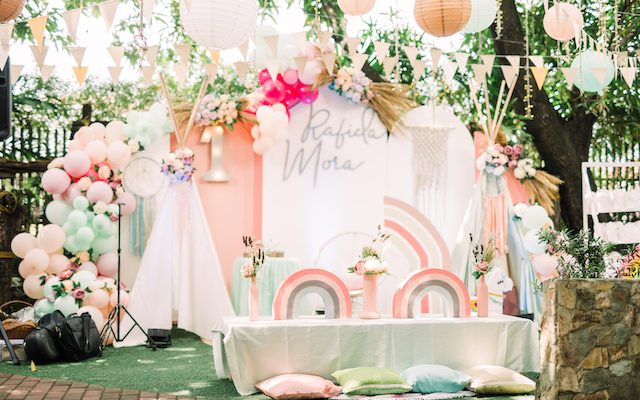 Rafi's Boho Chic Loveliness Themed Party – 1st Birthday